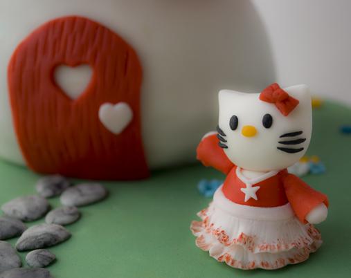 particolare di Hello Kitty