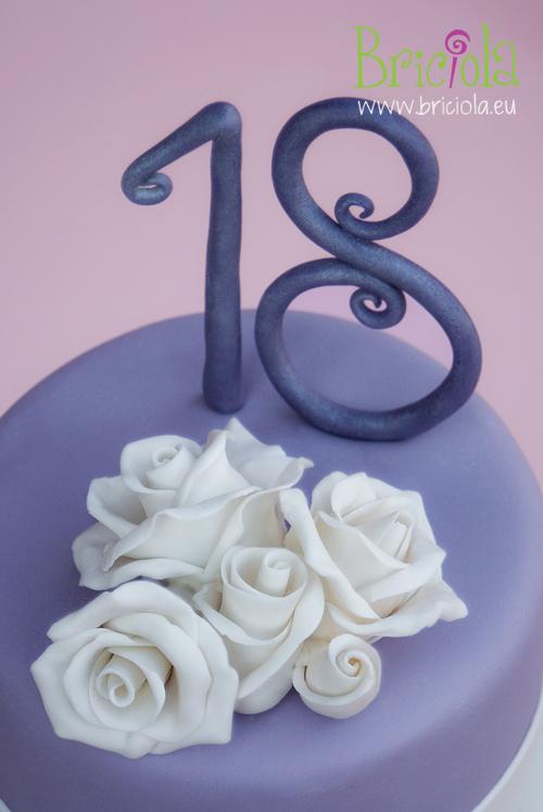 rose bianche - diciottesimo compleanno