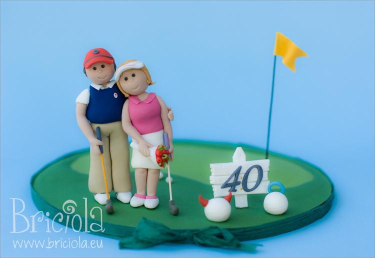 sugat topper golf wedding anniversary