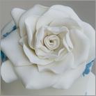 gardenia in gumpaste