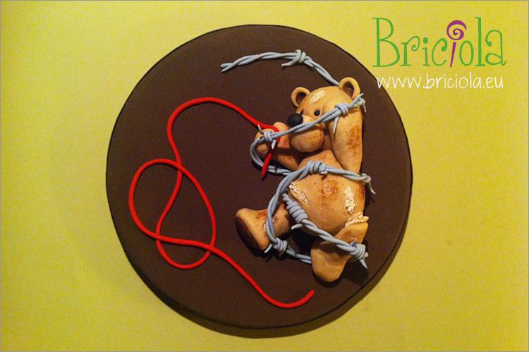 anteprima topper Giorno della Memoria - Briciola torte decorate Torino
