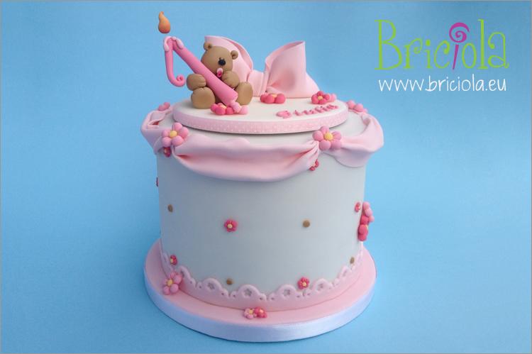 torta orsetto - Briciola torte decorate Torino