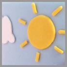 anteprima torta Peppa Pig - sole