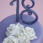 torta diciottesimo compleanno - rose