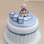 torta e topper Battesimo