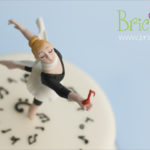 torta benaugurale - ballerina