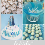 Sweet table compleanno - frozen