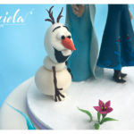 Topper compleanno - Frozen - Olaf