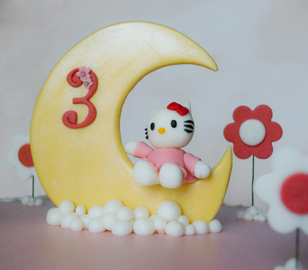 torta compleanno - Hello Kitty