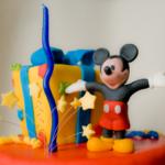 torta primo compleanno - topolino