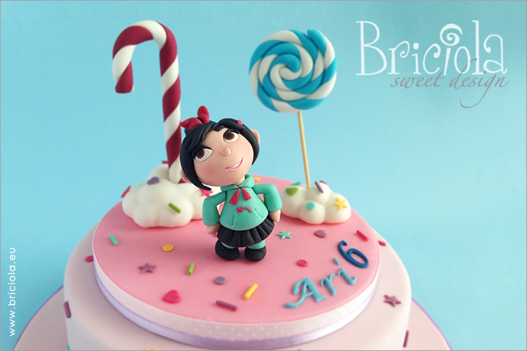 topper compleanno - Vanellope