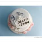 torta anniversario di matrimonio - rose